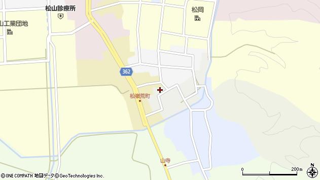 山形県酒田市元新屋敷34周辺の地図