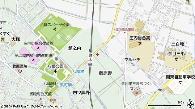 山形県東田川郡庄内町余目藤原野24周辺の地図
