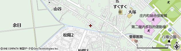山形県東田川郡庄内町余目山谷40周辺の地図