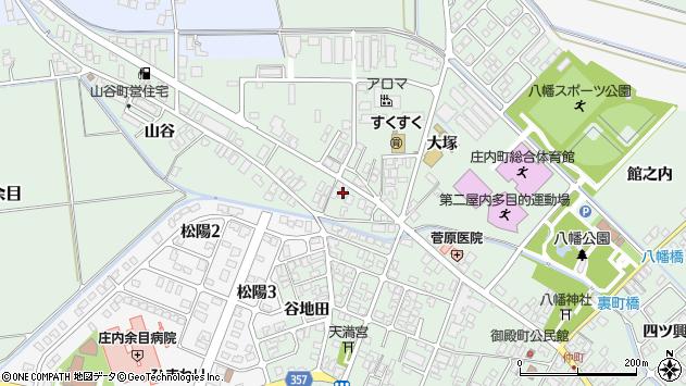 山形県東田川郡庄内町余目大塚81周辺の地図