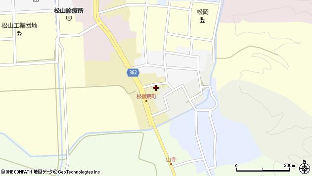 山形県酒田市荒町74周辺の地図