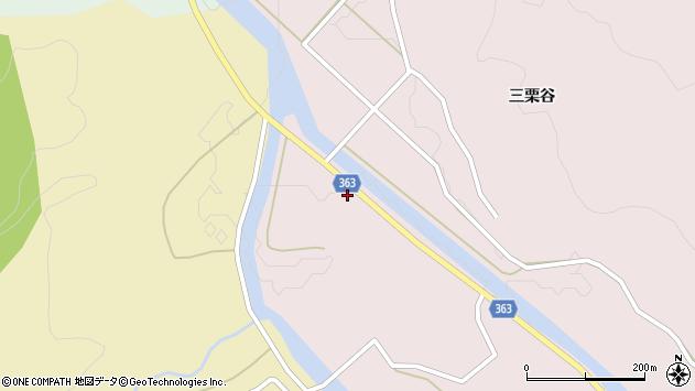 山形県酒田市山元滝沢38周辺の地図