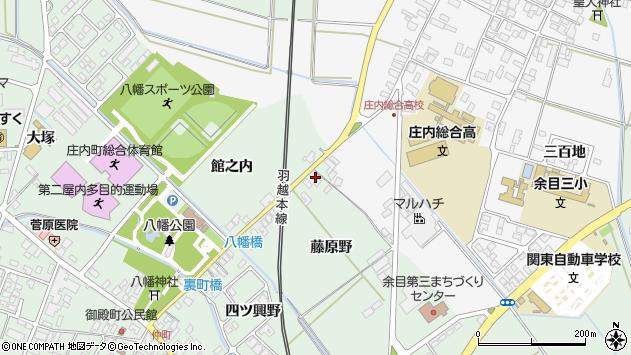 山形県東田川郡庄内町余目藤原野23周辺の地図