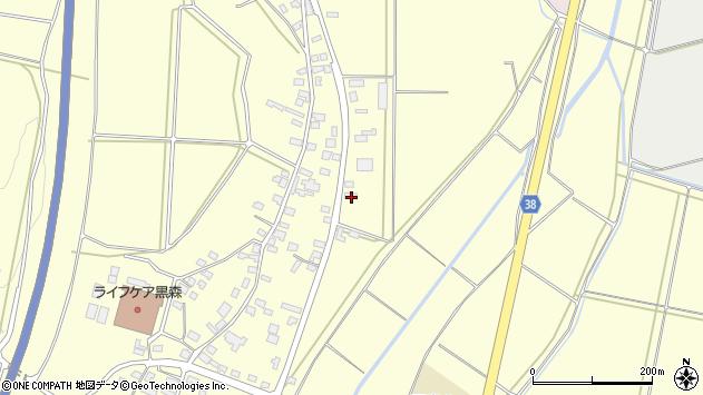 山形県酒田市黒森鏥53周辺の地図