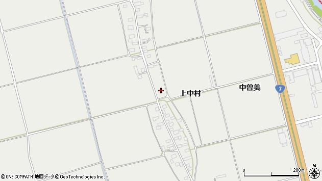 山形県酒田市広野上中村150周辺の地図