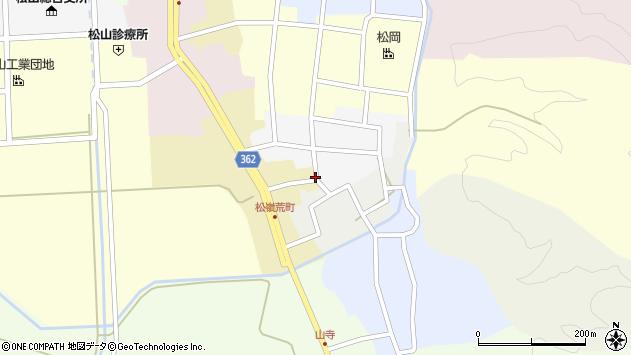 山形県酒田市荒町82周辺の地図