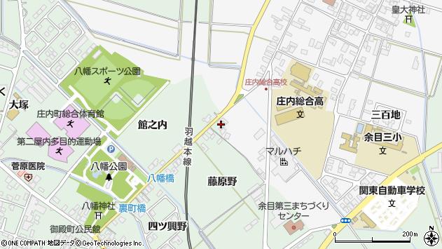 山形県東田川郡庄内町余目藤原野22周辺の地図