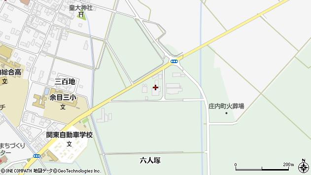 山形県東田川郡庄内町余目六人塚142周辺の地図