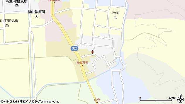 山形県酒田市荒町81周辺の地図