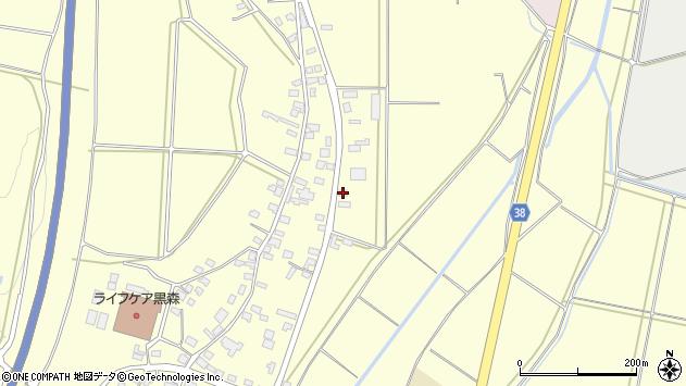 山形県酒田市黒森鏥54周辺の地図