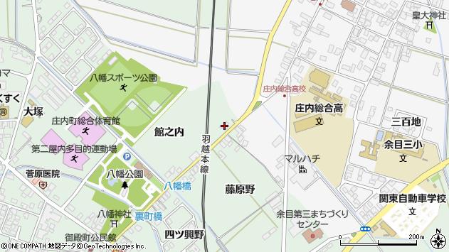 山形県東田川郡庄内町余目藤原野7周辺の地図