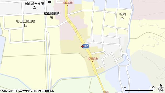 山形県酒田市荒町42周辺の地図