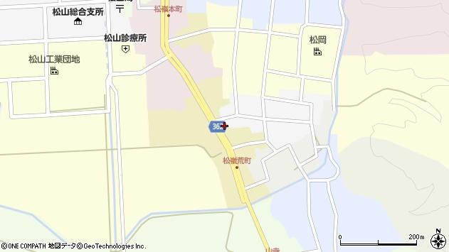 山形県酒田市荒町22周辺の地図
