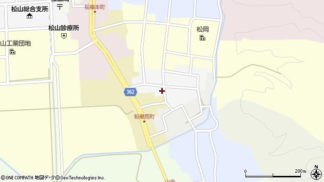山形県酒田市南町51周辺の地図