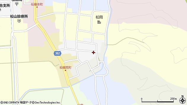 山形県酒田市南町36周辺の地図