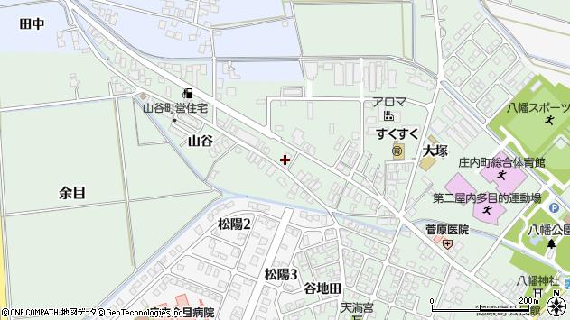 山形県東田川郡庄内町余目大塚90周辺の地図