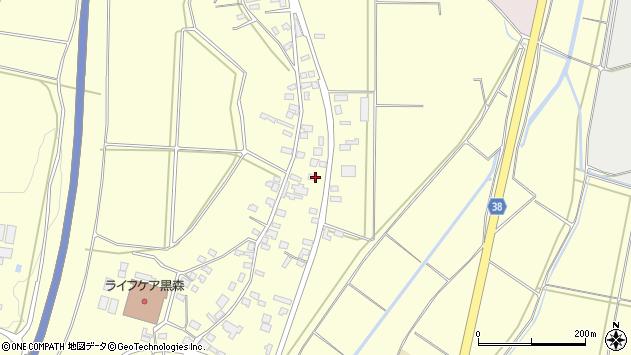 山形県酒田市黒森谷地中63周辺の地図