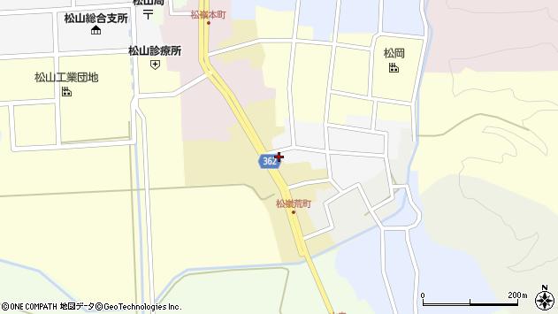 山形県酒田市荒町23周辺の地図