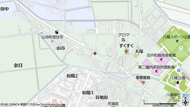 山形県東田川郡庄内町余目大塚88周辺の地図