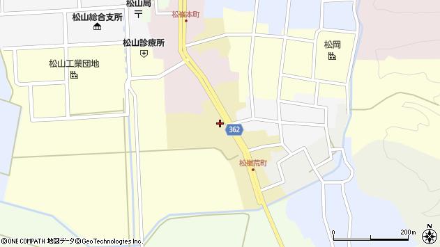 山形県酒田市荒町40周辺の地図