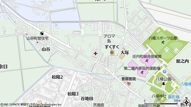 山形県東田川郡庄内町余目大塚54周辺の地図