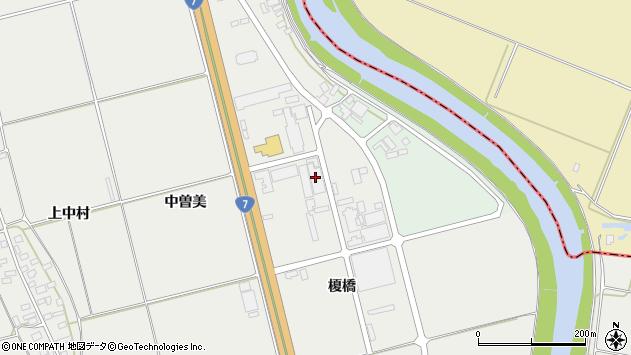 山形県酒田市広野榎橋周辺の地図