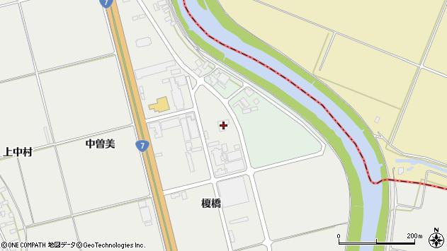 山形県酒田市広野榎橋44周辺の地図