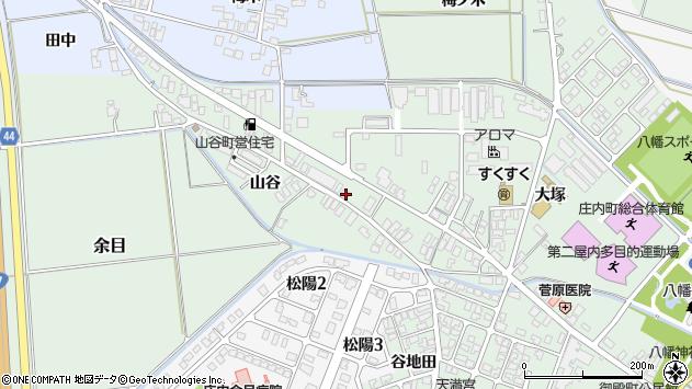 山形県東田川郡庄内町余目大塚98周辺の地図