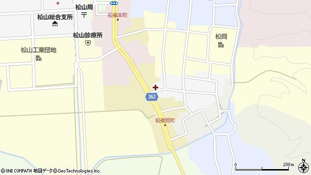 山形県酒田市南町20周辺の地図