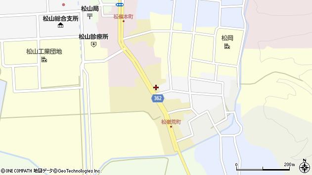 山形県酒田市荒町26周辺の地図