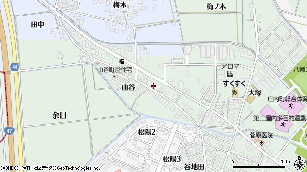 山形県東田川郡庄内町余目大塚102周辺の地図