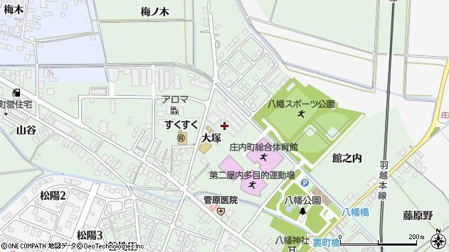 山形県東田川郡庄内町余目大塚11周辺の地図