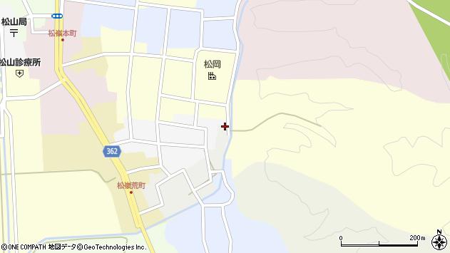 山形県酒田市元新屋敷1周辺の地図