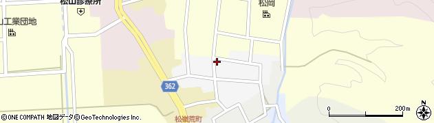 山形県酒田市南町14周辺の地図