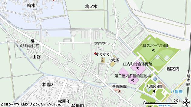 山形県東田川郡庄内町余目大塚41周辺の地図