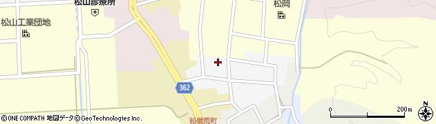 山形県酒田市南町15周辺の地図