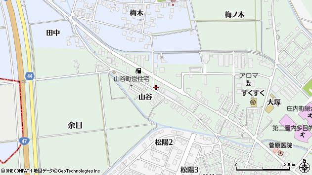 山形県東田川郡庄内町余目大塚104周辺の地図