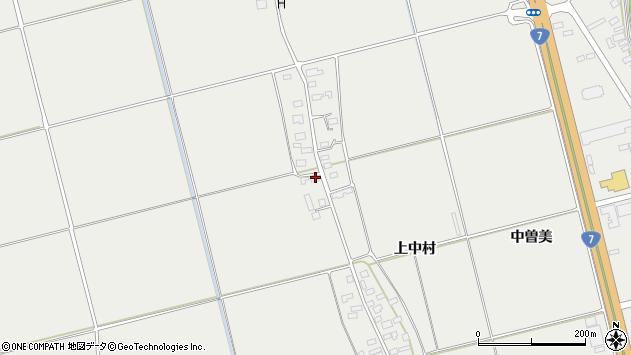 山形県酒田市広野上中村141周辺の地図