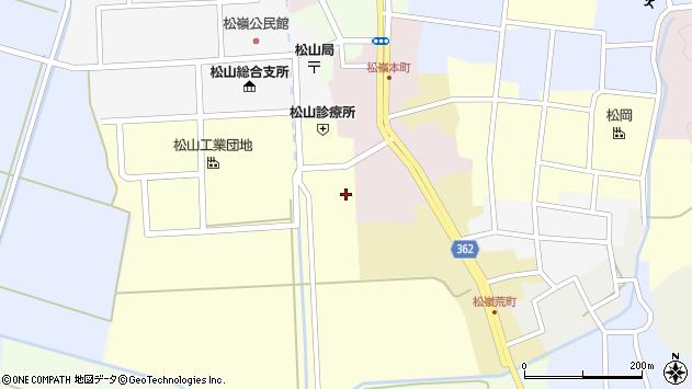 山形県酒田市西田37周辺の地図