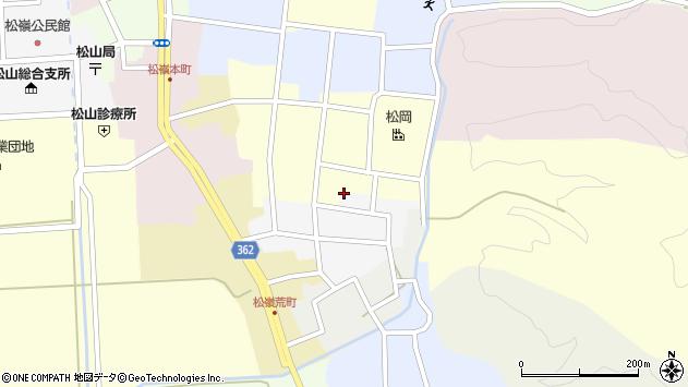 山形県酒田市南町7周辺の地図