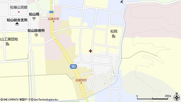 山形県酒田市仲町35周辺の地図