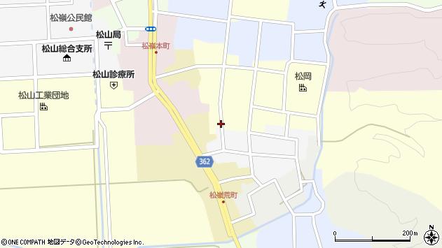 山形県酒田市仲町49周辺の地図