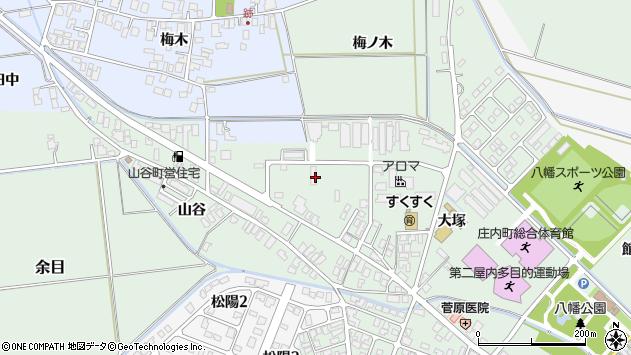 山形県東田川郡庄内町余目大塚29周辺の地図