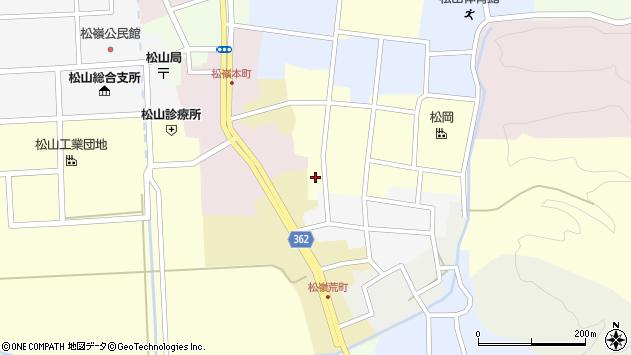山形県酒田市仲町48周辺の地図