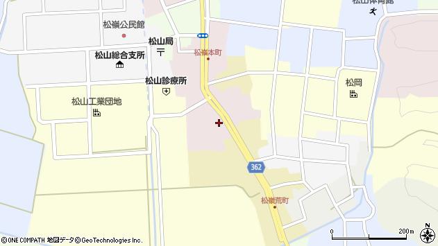 山形県酒田市本町50周辺の地図