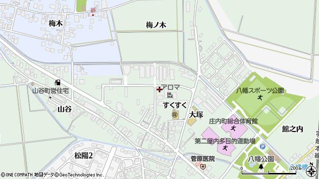 山形県東田川郡庄内町余目大塚34周辺の地図