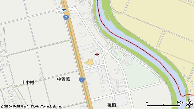 山形県酒田市広野十五軒4周辺の地図