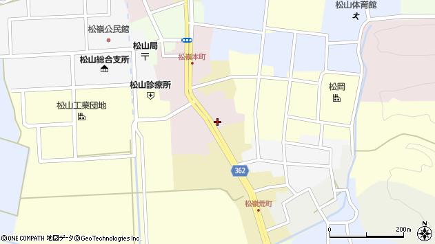 山形県酒田市本町5周辺の地図