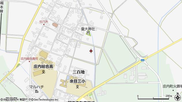 山形県東田川郡庄内町廿六木三百地71周辺の地図