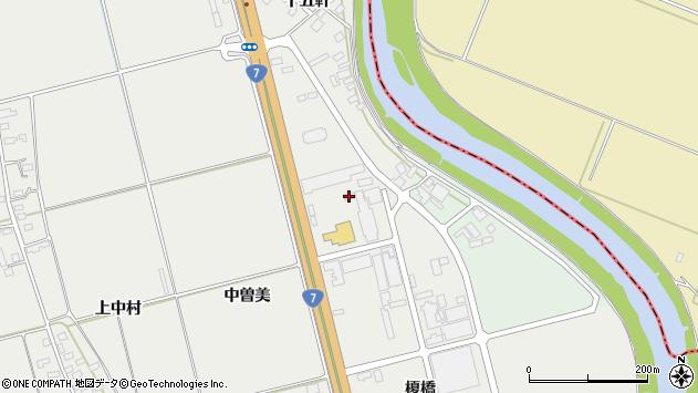 山形県酒田市広野十五軒周辺の地図